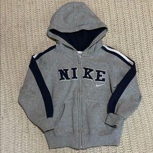 Boys Nike zip up jacket